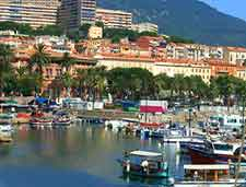 Ajaccio port picture