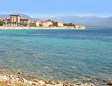 Waterfront view of Ajaccio