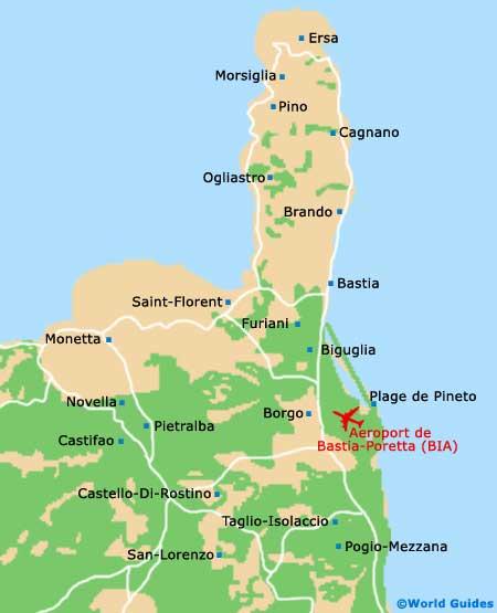 Corsica Maps and Orientation Corsica Corse France
