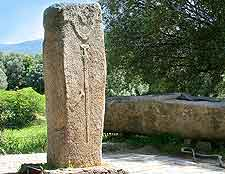 Image of one of the twelve Filitosa Menhirs
