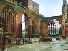 Photo showing Coventry Cathedral Ruins
