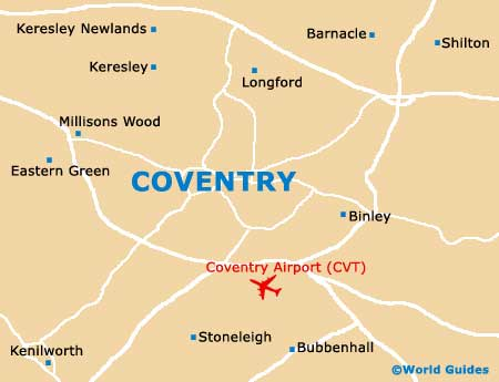 Small Coventry Map