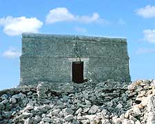 Closer view of Cozumel's Castillo Real