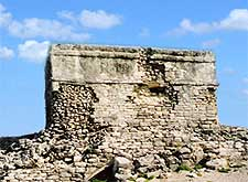 View of the ancient Castillo Real attraction