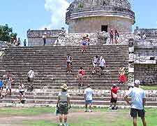 Another picture showing the ancient Chichen Itza Pyramid