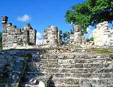 Picture of Mayan remains at San Gervasio