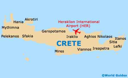 Crete Tourist Attractions and Sightseeing Crete Greece