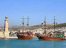 Picture of the Rethymnon harbour