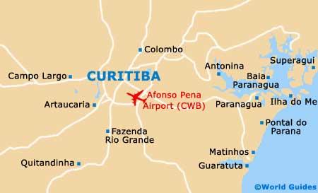 Small Curitiba Map