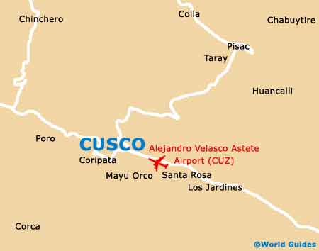 Small Cusco Map