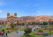 Photo of the Plaza de Armas