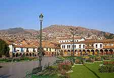 Picture of Cusco city centre and plaza