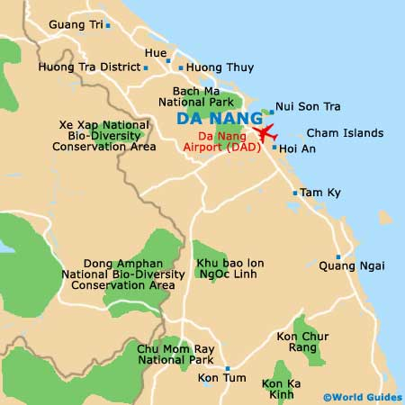 Small Da Nang Map