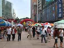 Picture of the city centre of Dalian