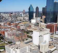 Image showing a view of the city of Dallas