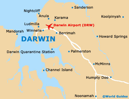 Darwin Travel Guide and Tourist Information Darwin Northern