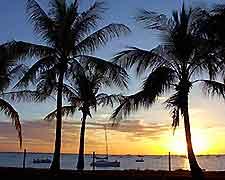 Darwin sunset scene
