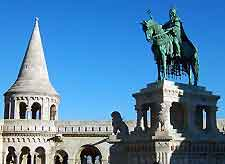 Picture of the Fisherman Bastion in Budapest
