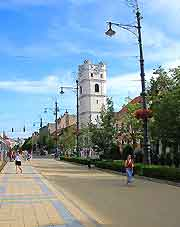 View of a central street