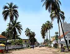 Picture of downtown Kinshasa