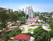 Kinshasa picture, showing the Boulevard du 30 Juin