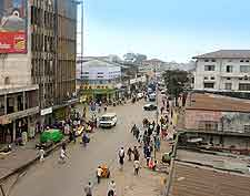 Central view of Kinshasa
