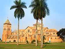 View of the Kisantu Catholic Cathedral (Catholic Cathedral of the Jesuit Mission of Kisantu)