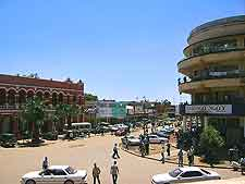 Image of Lubumbashi city centre