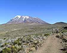 Picture of Mount Kilimanjaro in Tanzania