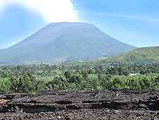 Photograph of the Nyiragongo Volcano