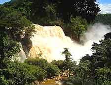 Image of the famous Zongo Falls (Chutes de Zongo)