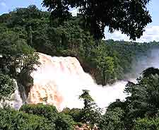 Photograph of the stunning Zongo Falls