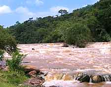 Image of the Zongo Falls in Democratic Republic of the Congo
