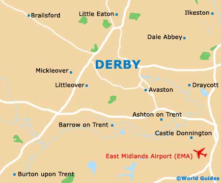 Small Derby Map