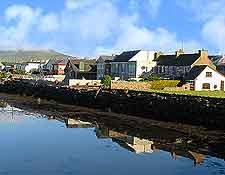 Image showing coastal houses