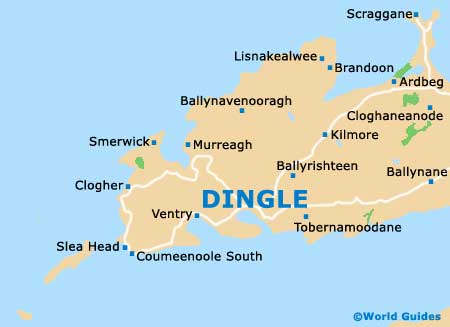 Dingle peninsula population