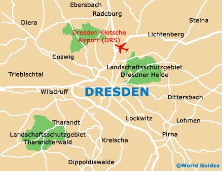 Small Dresden Map