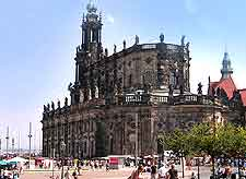 Picture of Dresden's Hofkirche