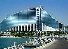 Photo Of The Jumeirah Beach Hotel Showing Its Destinctive Wave Shape