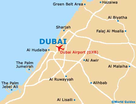 Small Dubai Map