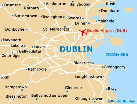 Orientation: Regional Map of Dublin - Dublin, Ireland