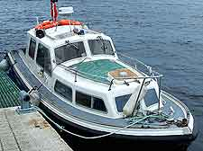 Dundee Harbour boat