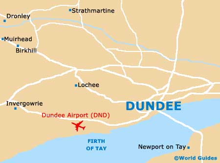 Small Dundee Map