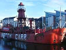 Image of the North Carr Lightship
