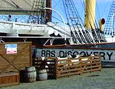 View of the RRS Discovery