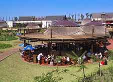 Image of eating area at uShaka Marine World