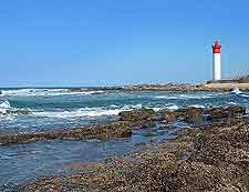 Umhlanga District photograph, showing the lighthouse