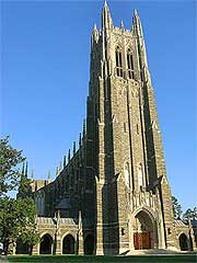 Picture of the famous Duke Chapel