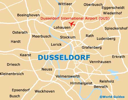 Small Dusseldorf Map