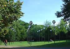Picture of the Sudpark, home of the city's zoo